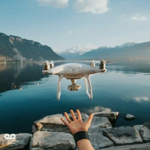 lake-mountains-drone-LA-service