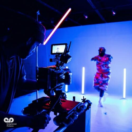 man-filming-dancing-service-LA-video